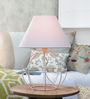 Azul Table Lamp in White by Bohemiana
