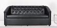 Three Seater Sofa in Black Colour by Parin
