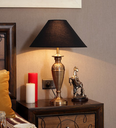The Light Store Brass Table Lamp - 1484844