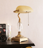 The 7th Galaxy Beige Glass Table Lamp