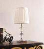 The 7th Galaxy White Silk Table Lamp
