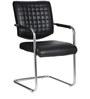 The Aleman Metal Chair in Black color by VJ Interior