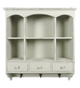 Aganoor Contemporary Wall Shelf in White by Amberville
