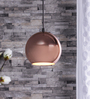 Dylan Ceiling Lamp in Copper by Bohemiana