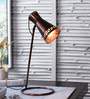 Alistair Table Lamp in Copper by Casacraft