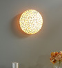 Leticia Ceiling Lamp in White by CasaCraft