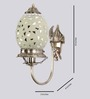 Shivasundari Wall Light in Silver by Mudramark