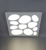 Vermillion Ceiling Lamp in White by CasaCraft