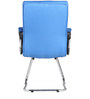The Claro Ergonomic Chair in Sky Blue color by VJ Interior