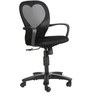 The Corazon Low Back Task Chair in Black color by VJ Interior