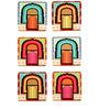 The Elephant Company MDF Coasters Shahi Darvazah - Set of 6