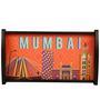 The Elephant Company Tray Rect Orange Mumbai Cityscape