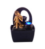 The Exclusive Deco Brown Resin Ideal Electric Operated Indoor Fountain