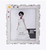 The Exclusive Deco White & Silver Plastic 10.2 x 1 x 12.2 Inch Angelic Photo Frame