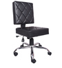 The Ladrillos Study And Task Chair Black in Black Color By VJ Interior