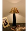 The Lamp Store Black & Gold Poly Cotton Lamp Shade