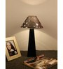 The Lamp Store Black & Silver Poly Cotton Lamp Shade