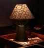 The Light House Circle Metal Table Lamp