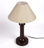 The Light House with khadi Table Lamp