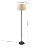 The Light House Off-White Shade Metal Floor Lamp