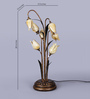 The Light Store Gold Metal Table Lamp
