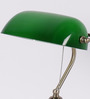 The Light Store Green Glass Study Lamp
