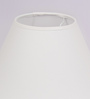 TLS by Kapoor Lampshades Off White Cotton Empire Lamp Shade