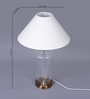 The Light Store White Cotton Table Lamp