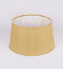 The Light Store Yellow Ghicha Oval Lamp Shade