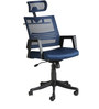 The Marino Executive High Back Chair in Blue color by VJ Interior