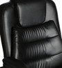 (Free Kid Chair)The Mediano Executive Medium Back Chair in Black color by VJ Interior