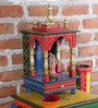 The Mikky Shoppe Station Multicolour MDF Temple