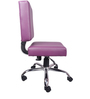The Morado Study And Task Chair Polyurethane (PU)rple in Purple Color By VJ Interior