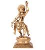 The Nodding Head Golden Brass Shanthala Dancing Statue