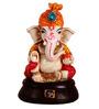 The Nodding Head Multicolor Polyresin Pagdi Ganesha in Dhoti