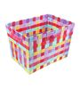 The Quirk Box Multipurpose Cloth Fluorescent Big Storage Basket