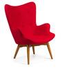The Reggio Replica Wing Chair in Red Colour by HomeHQ