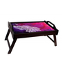 The Ringmaster Water Coloured Peacock Multicolour Wooden Breakfast Serving Tray