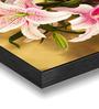 Hashtag Decor Lilies Engineered Wood 6 x 18 Inch Framed Art Panel