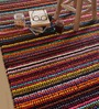 The Rug Republic Multicolour Fabric Abstract Hand Woven Area Rug