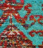 The Rug Republic Multicolour Viscose Floral Hand Knotted Area Rug