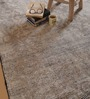 The Rug Republic Brown Wool Indian Ethnic Hand Knotted Area Rug