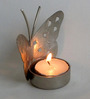 The Shopy Multicolour MDF Candle Stand