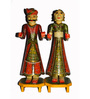 The Shopy Multicolour Solid Wood Figurines