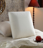 The White Willow White Memory Foam 18 x 18 Inch Square Decorative Cushion Insert