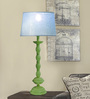 The Yellow Door Blue Cotton Table Lamp