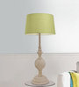 The Yellow Door Green Cotton Table Lamp