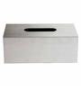 The Yellow Door Silver Composite Tissu Box