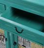 Daft Sideboard in Jade Green Finish by Bohemiana