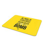 Thinkpot Multicolor Foam Be Wary of Engineers Quote Mousepad